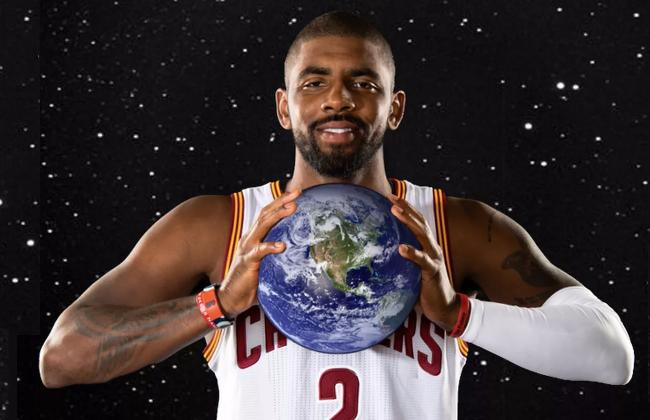 52e1591f2584 This isn t the first time Irving has spouted on about a flat Earth  conspiracy